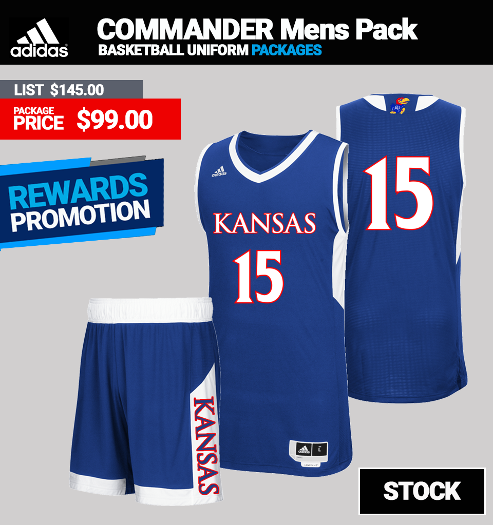 Adidas Stock Commander Basketball Jersey Package