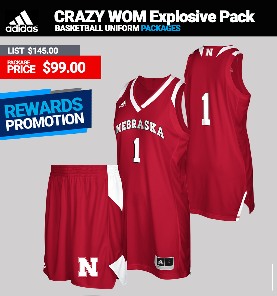 Adidas Women's Crazy Explosive Basketball Uniform Package