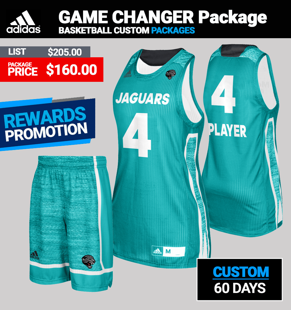Adidas Women's Game Changer Basketball Uniform Package