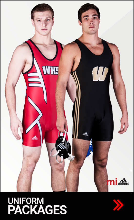 Adidas Men's Wrestling Uniform Packages