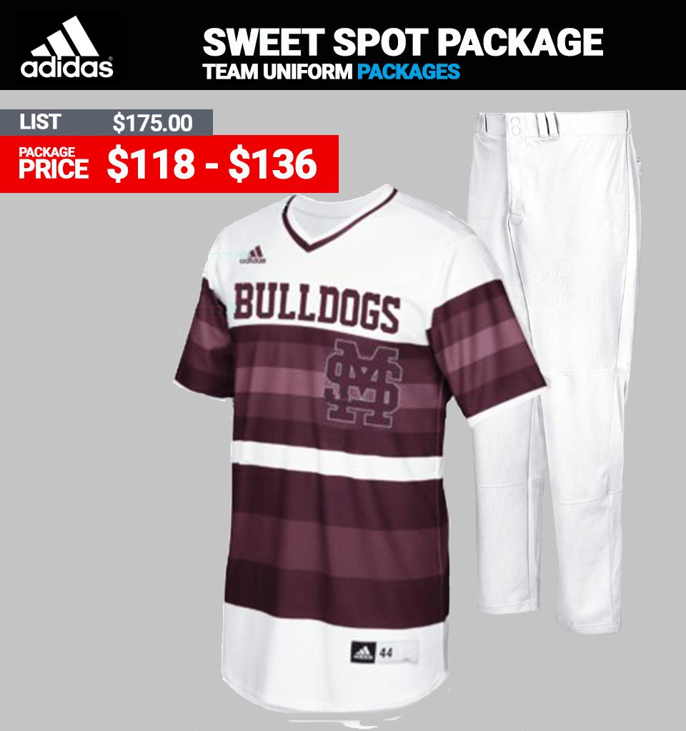 Adidas Sweet Spot Baseball Uniform Package - Link