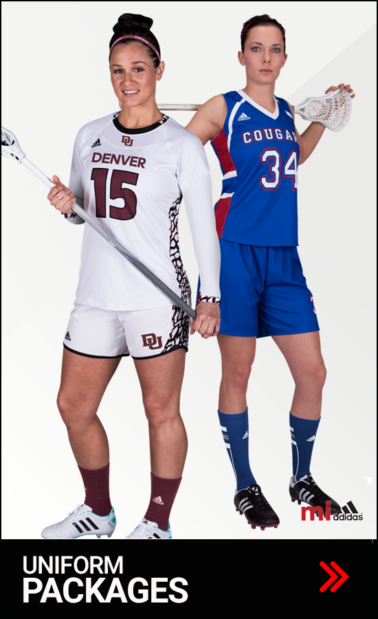 Adidas Women's Lacrosse Uniform Packages
