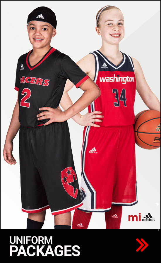 Adidas Youth Basketball Uniform Packages