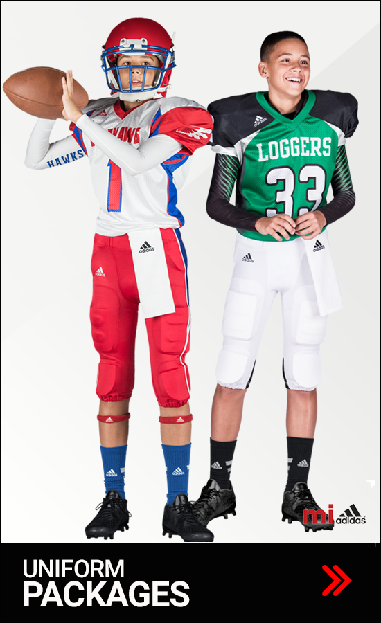 Adidas Youth Football Uniforms