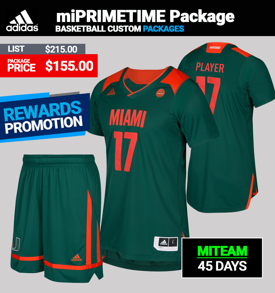 Adidas miPRIMETIME Uniform Package-Basketball Mens