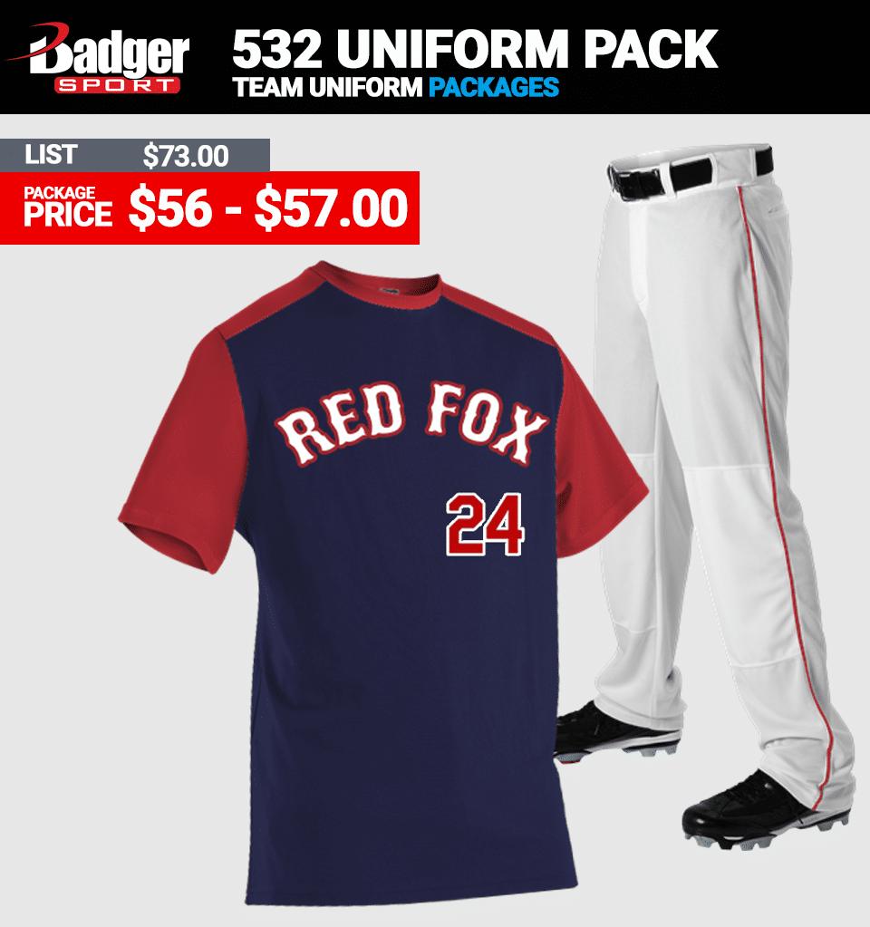 Alleson 532 Baseball Uniform Package - Link