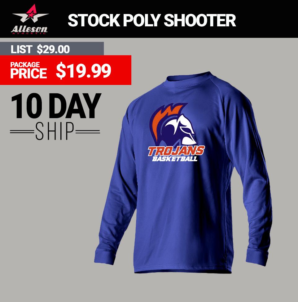 Alleson Custom Basketball Shooter Shirts – EDGE Engineering and