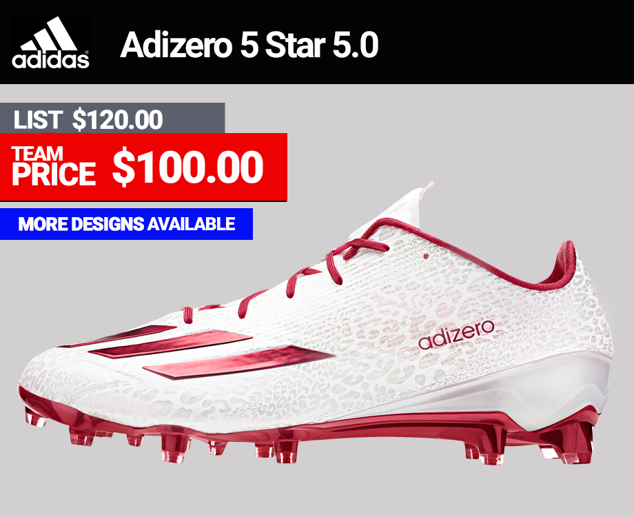 Adidas Adizero 5.0 5 Star Low Football Cleats