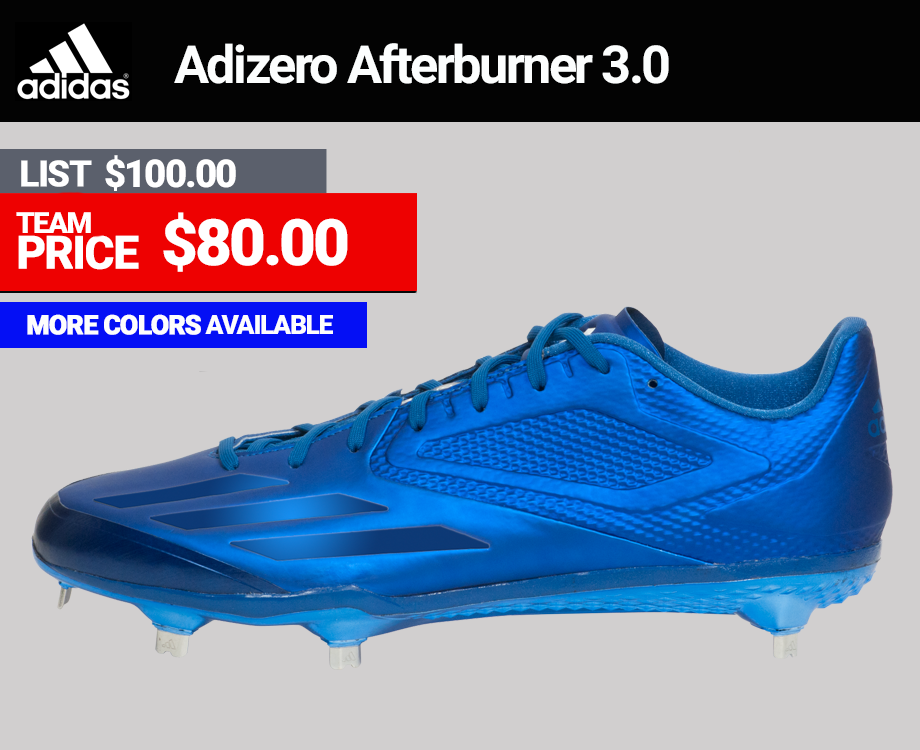 Adidas Adizero Afterburner 3 Mens Baseball Cleats