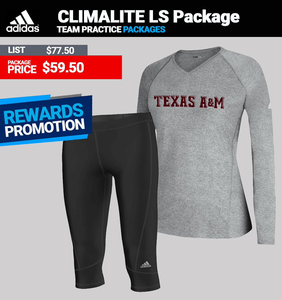 Adidas Climalite Long Sleeve Practice Package Womens