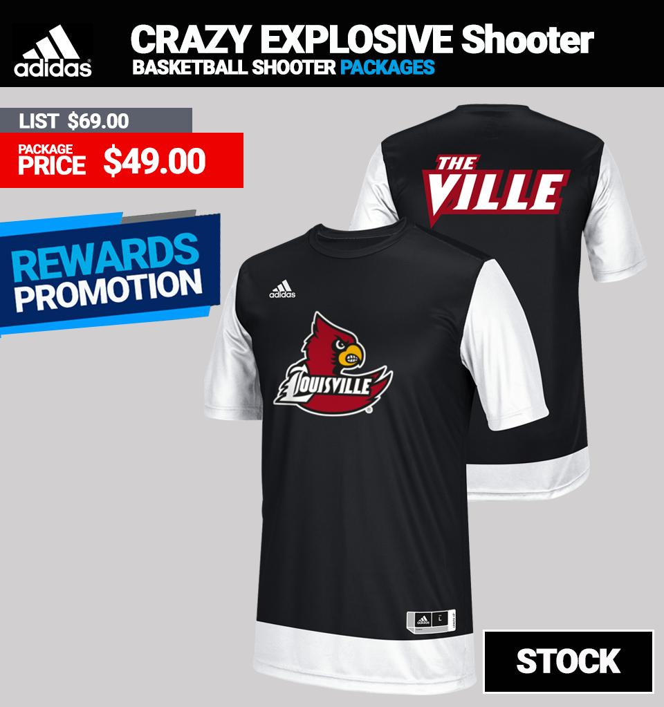 Adidas Crazy Explosive Basketball Shooters Top