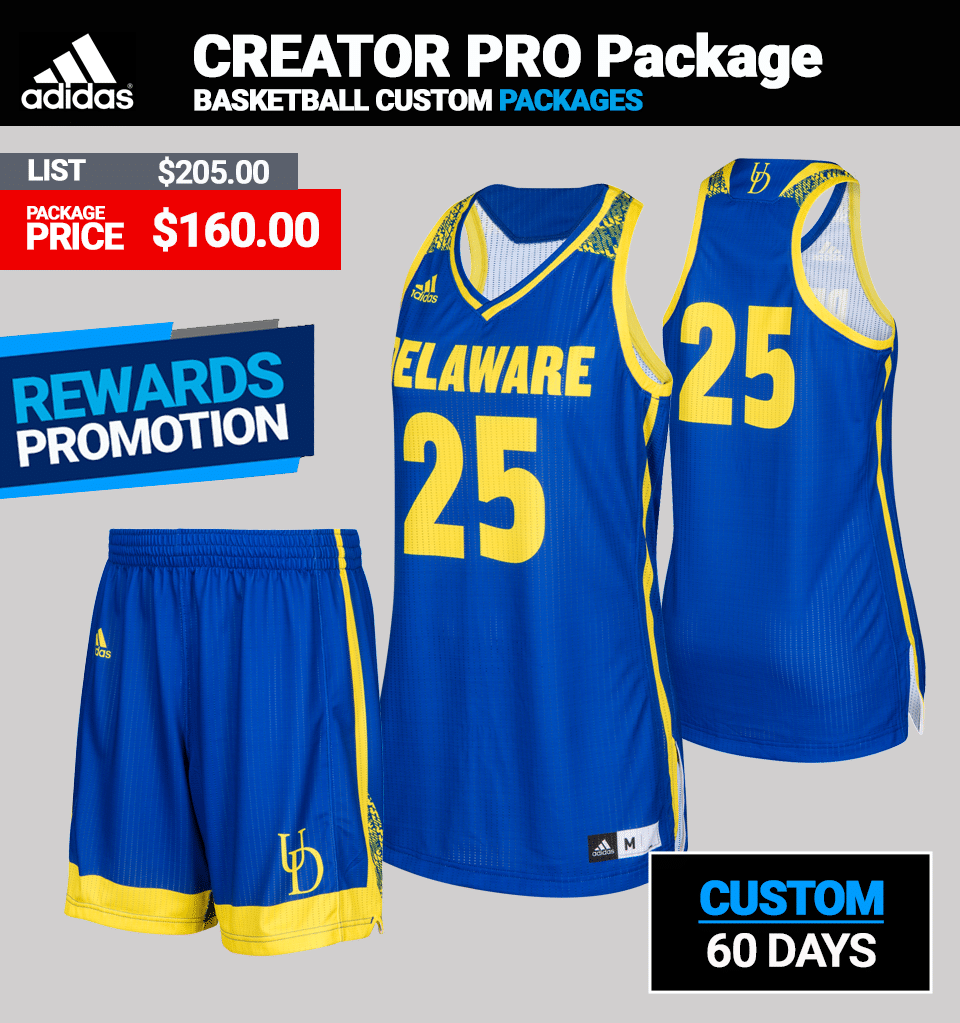Adidas Women's Custom theCreator Basketball Uniform Package