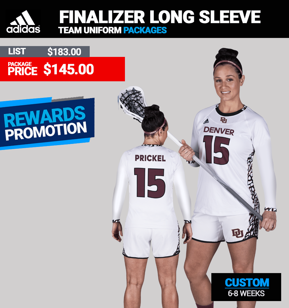 Adidas Finalizer Long Jersey LAX Womens Jersey Package Link