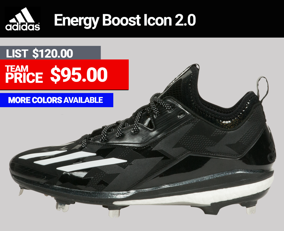 Adidas Icon Energy Boost Icon 2.0 Metal Baseball Cleats