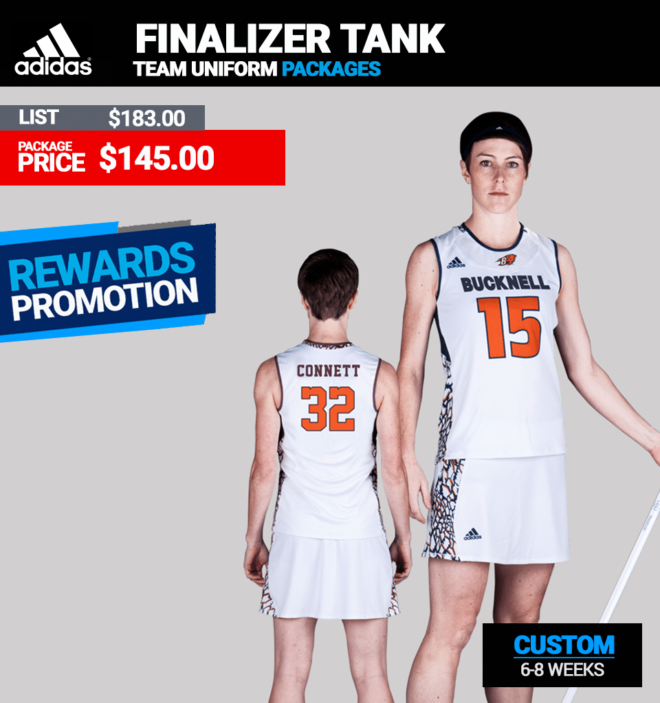 Adidas Womens LAX Finalizer Tank Package