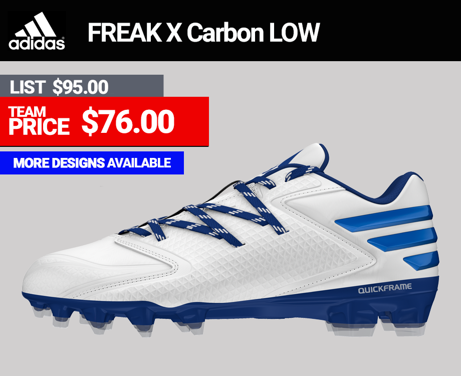 Adidas Freak X Carbon Low Football Cleats
