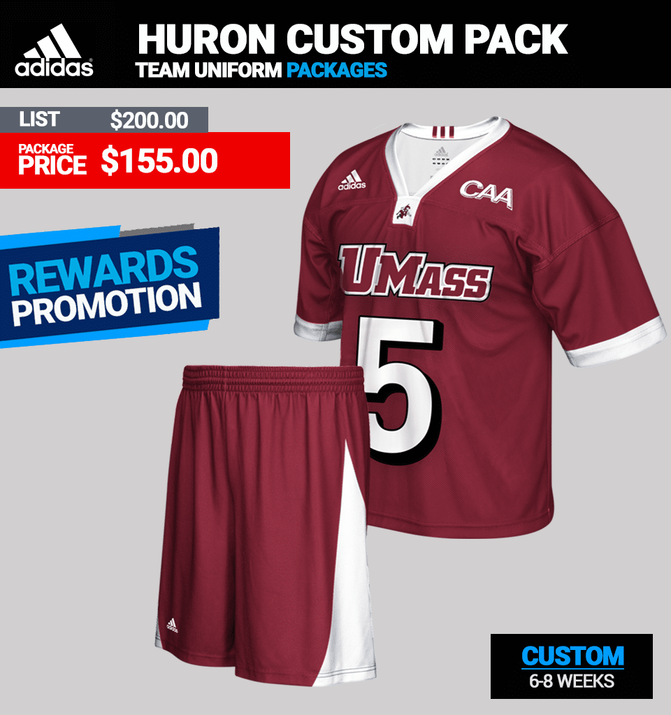 Adidas Huron Custom Lacrosse Uniform