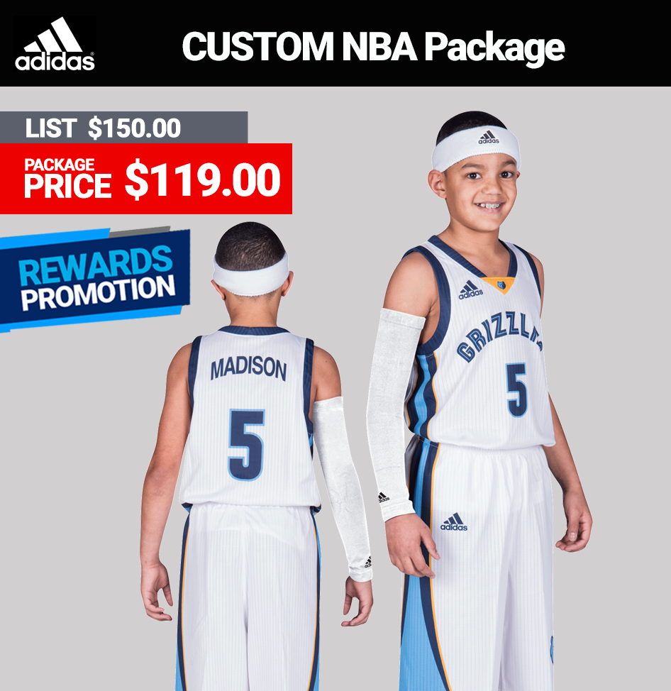 adidas youth team basketball uniforms