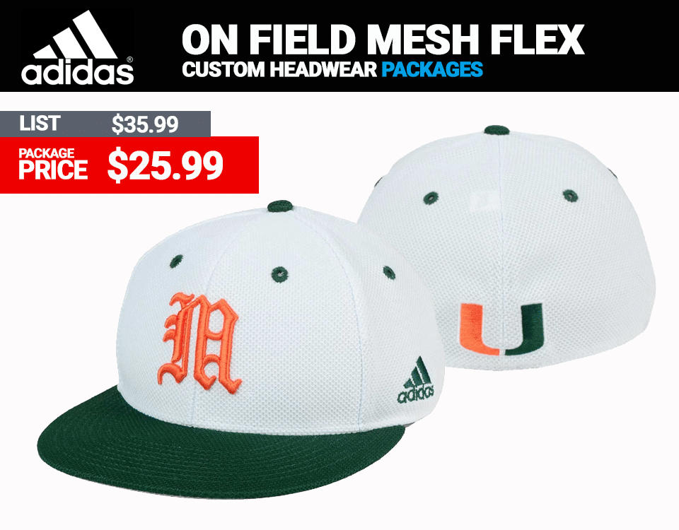 Adidas On Field Mesh Flex Fit Baseball Cap
