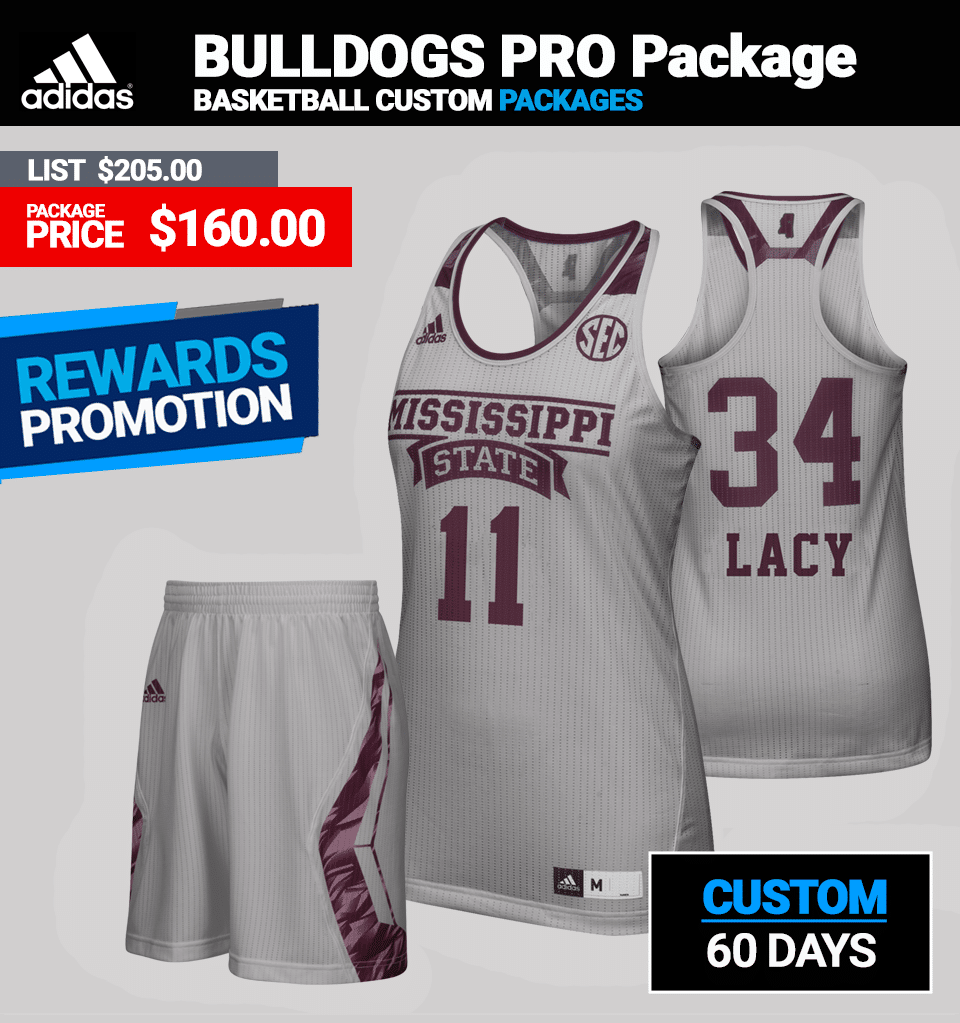 Adidas Women's Custom PRO Basketball Package