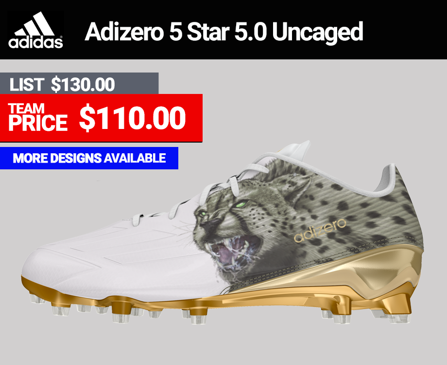 Adidas Adizero 5 Star 5.0 Uncaged Football Cleats