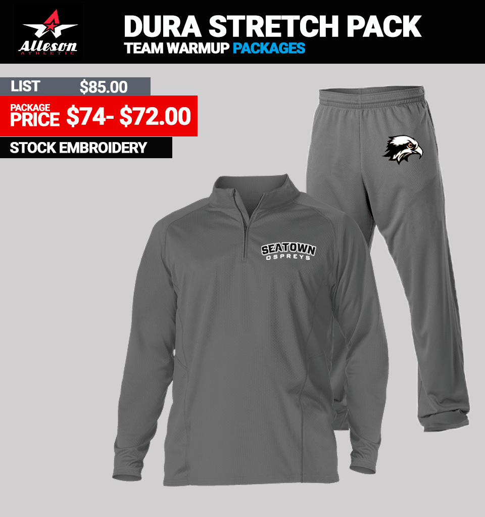 Alleson Durastretch Warmup Package