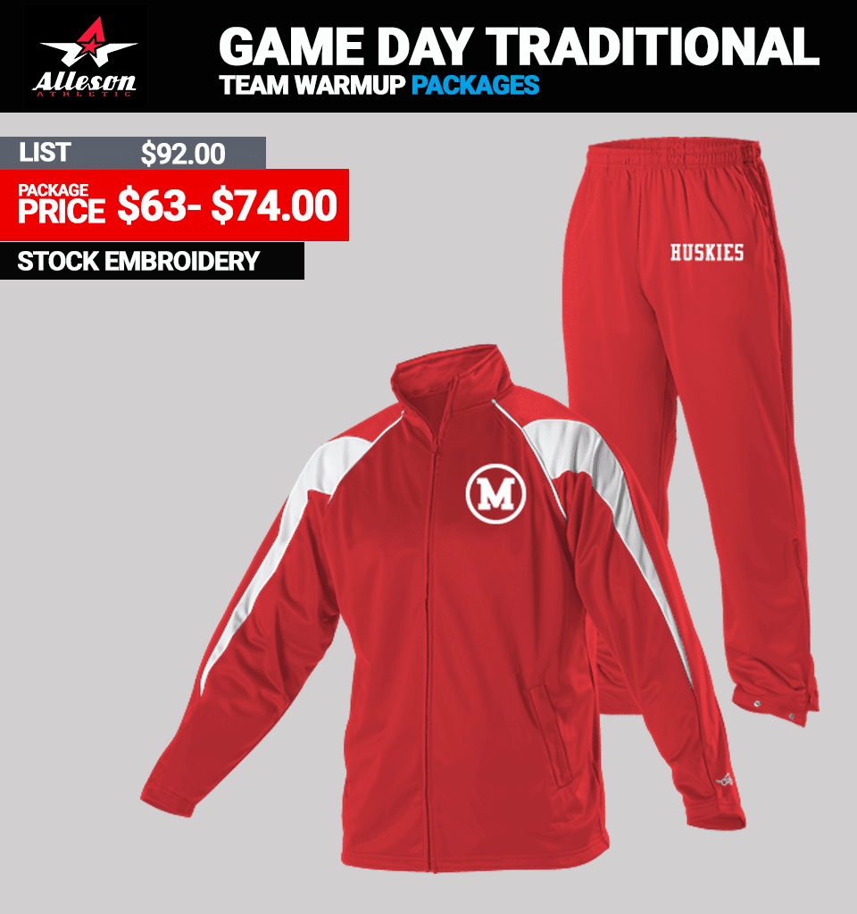 Alleson Game Day Traditional Package