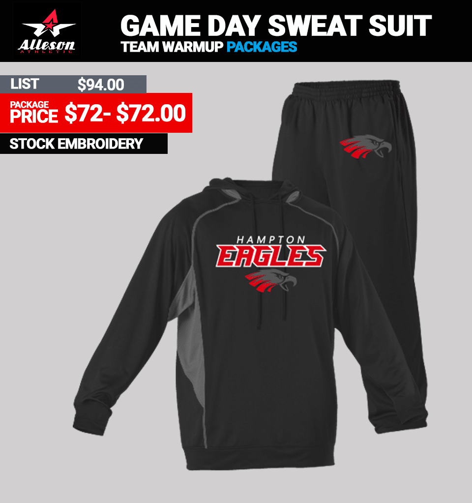 Alleson Game Day Warmup Package - Link Mens