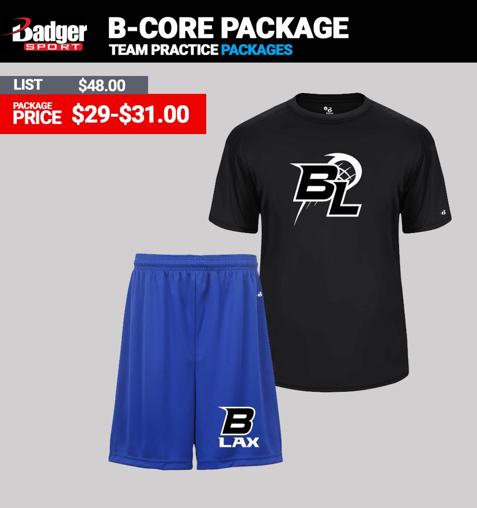 Badger B-Core Practice Package