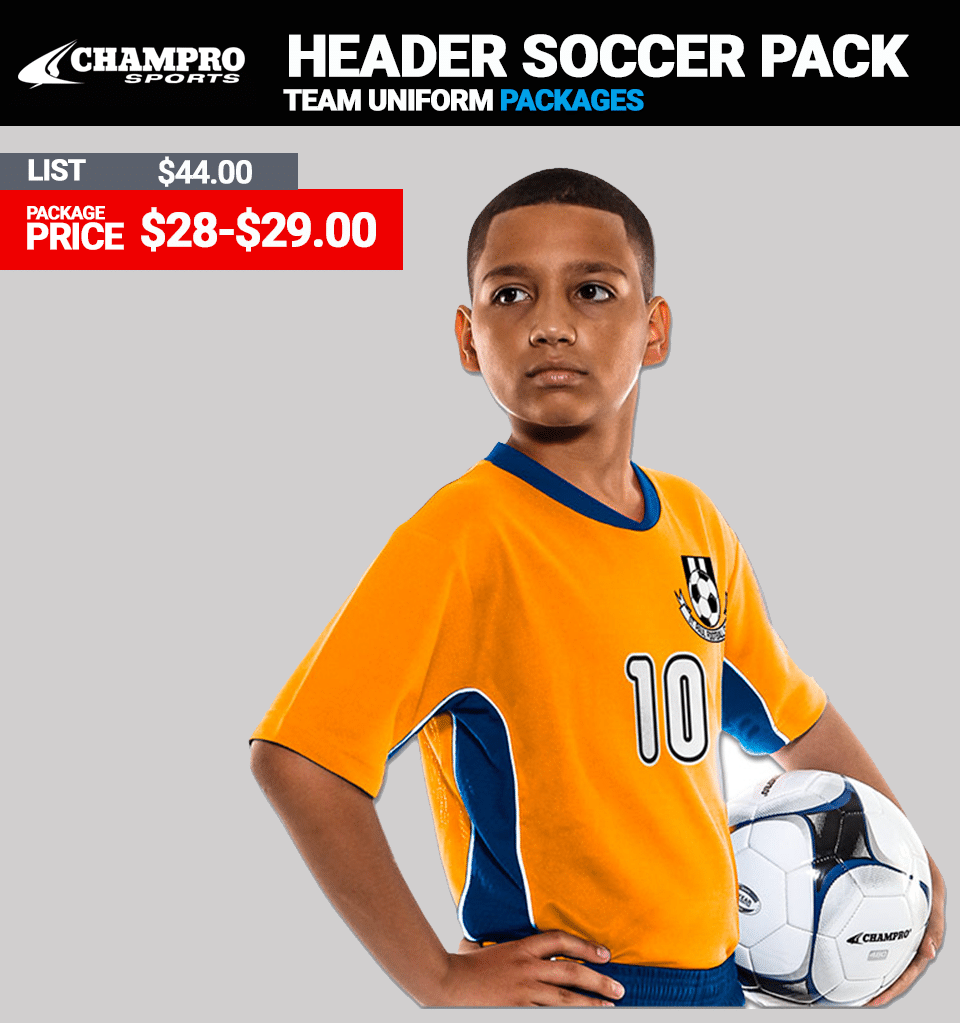 Champro Header Soccer Uniform Package