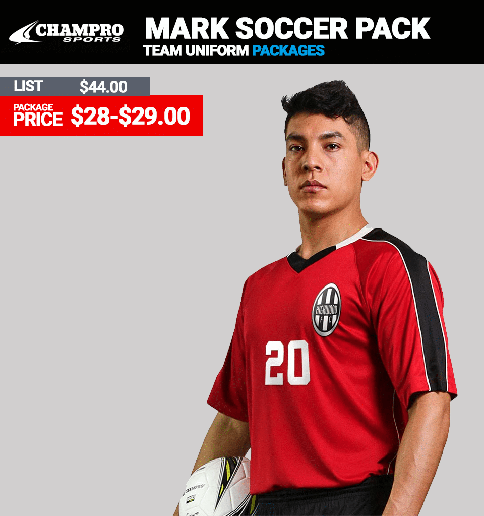 Champro Mark Soccer Uniform Package