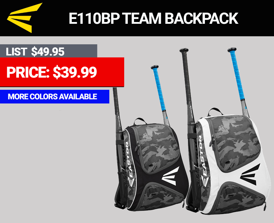Easton E110 Camo Backpack