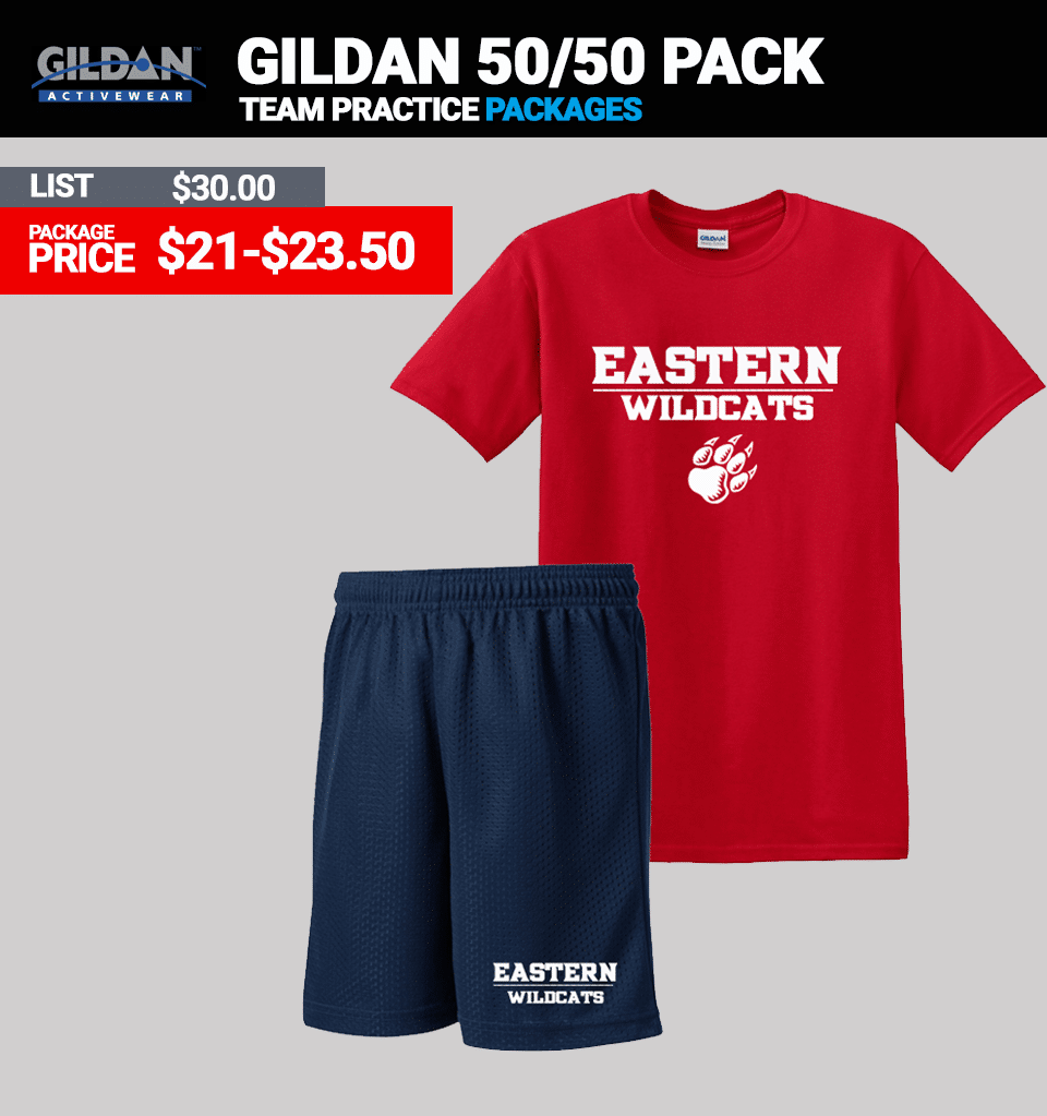 Gildan Cotton Practice Package