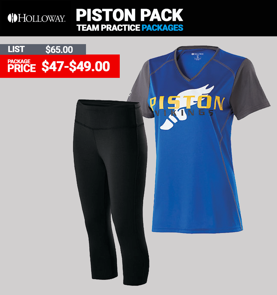 Holloway Piston Practice Package - Womens