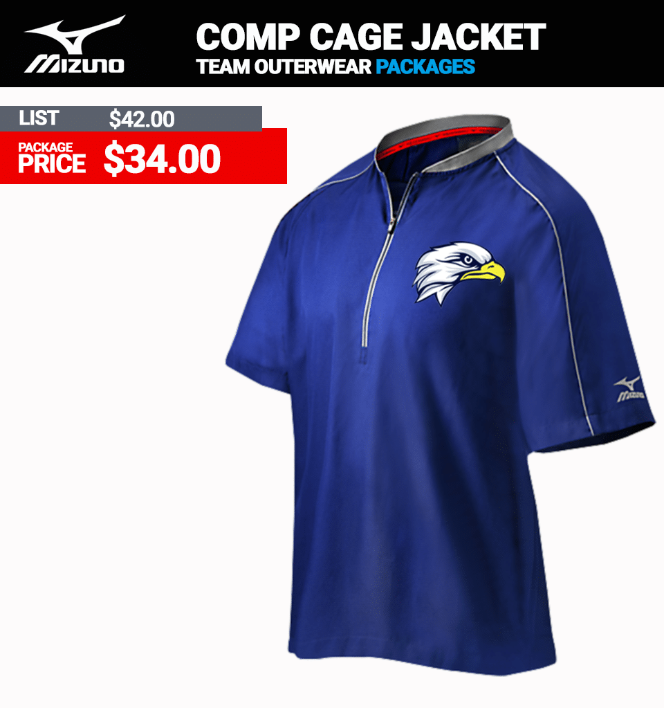 Mizuno Comp BP Cage Jacket