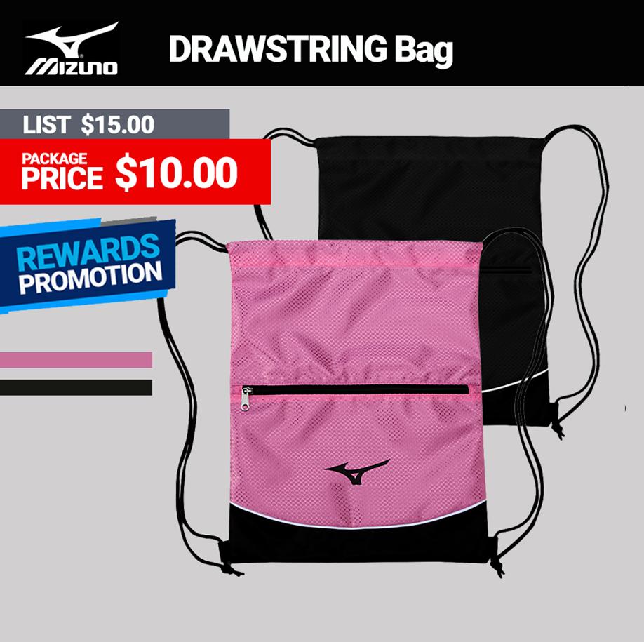 Mizuno Drawstring Bag