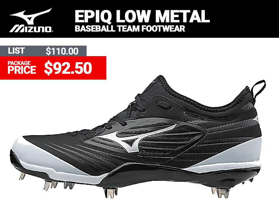Mizuno EPIQ Low Baseball Cleats