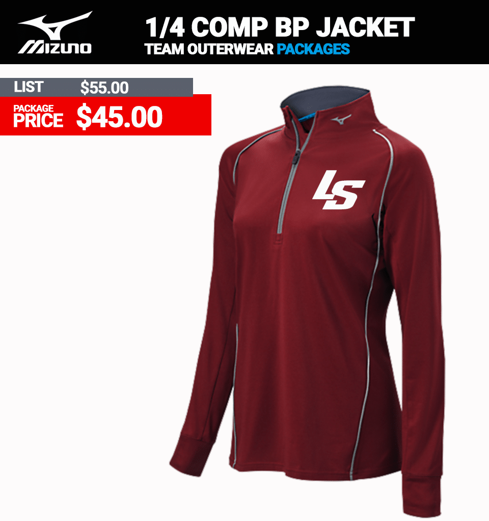 Mizuno Ladies Comp Batting Jacket