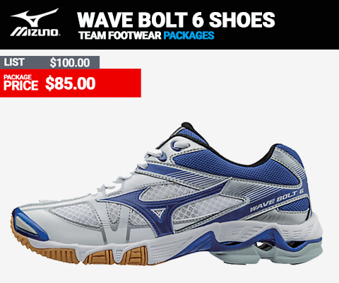Mizuno Wave Bolt 6 Womens Volleyball Shoes