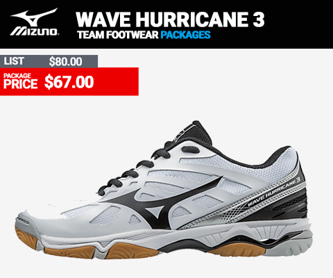 Mizuno Wave Hurrican 3 Volleyball Shoes