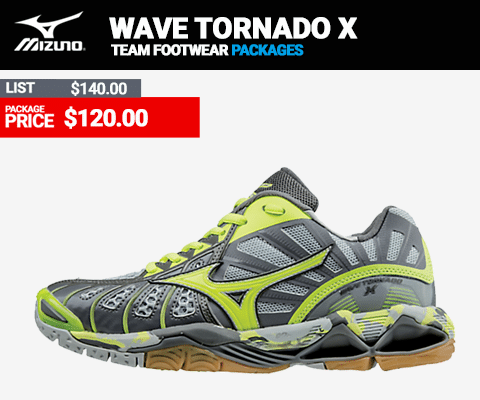 Mizuno Wave Tornado X Womens Volleyball Shoes
