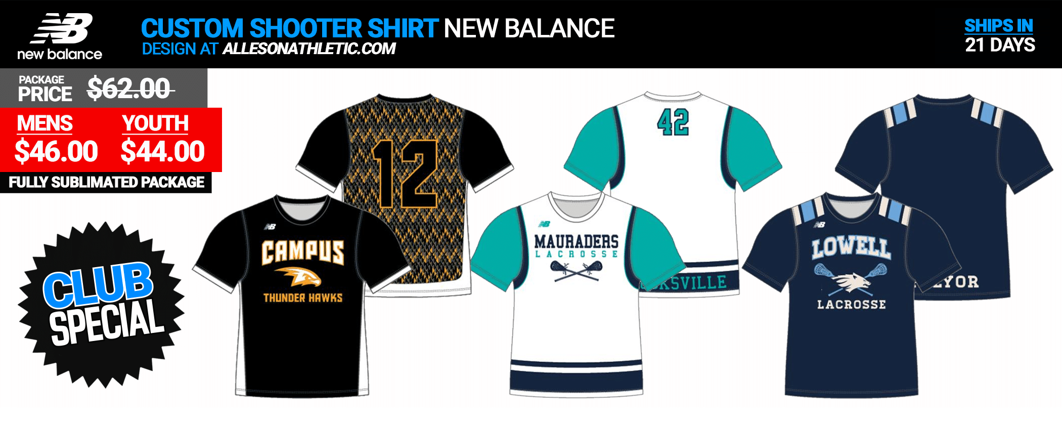 New Balance Custom Shooters Shirt