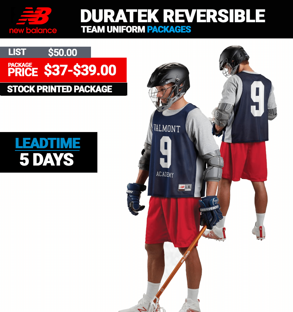 d7d441e5d New Balance Stock Reversible Lacrosse Uniform