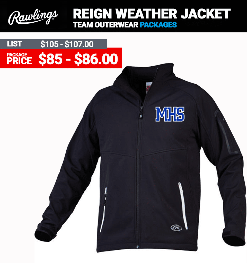 Rawlings Reign Cold Weather Batting Jacket