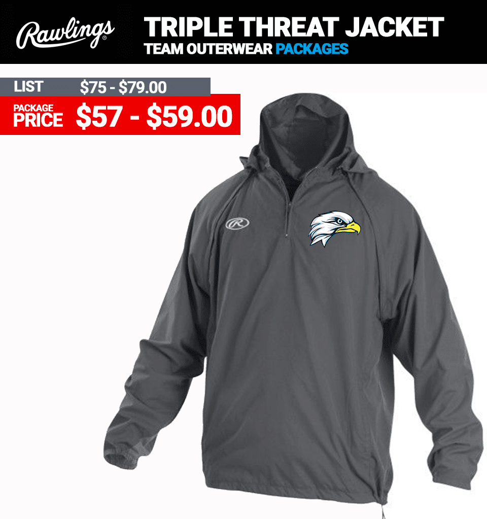 Rawlings Triple Threat Batting Jacket