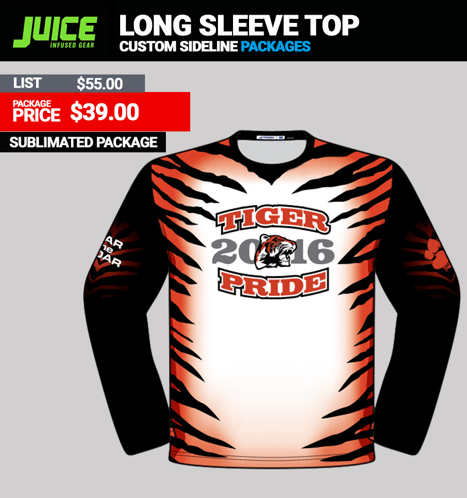 Juice Custom Long Sleeve Top