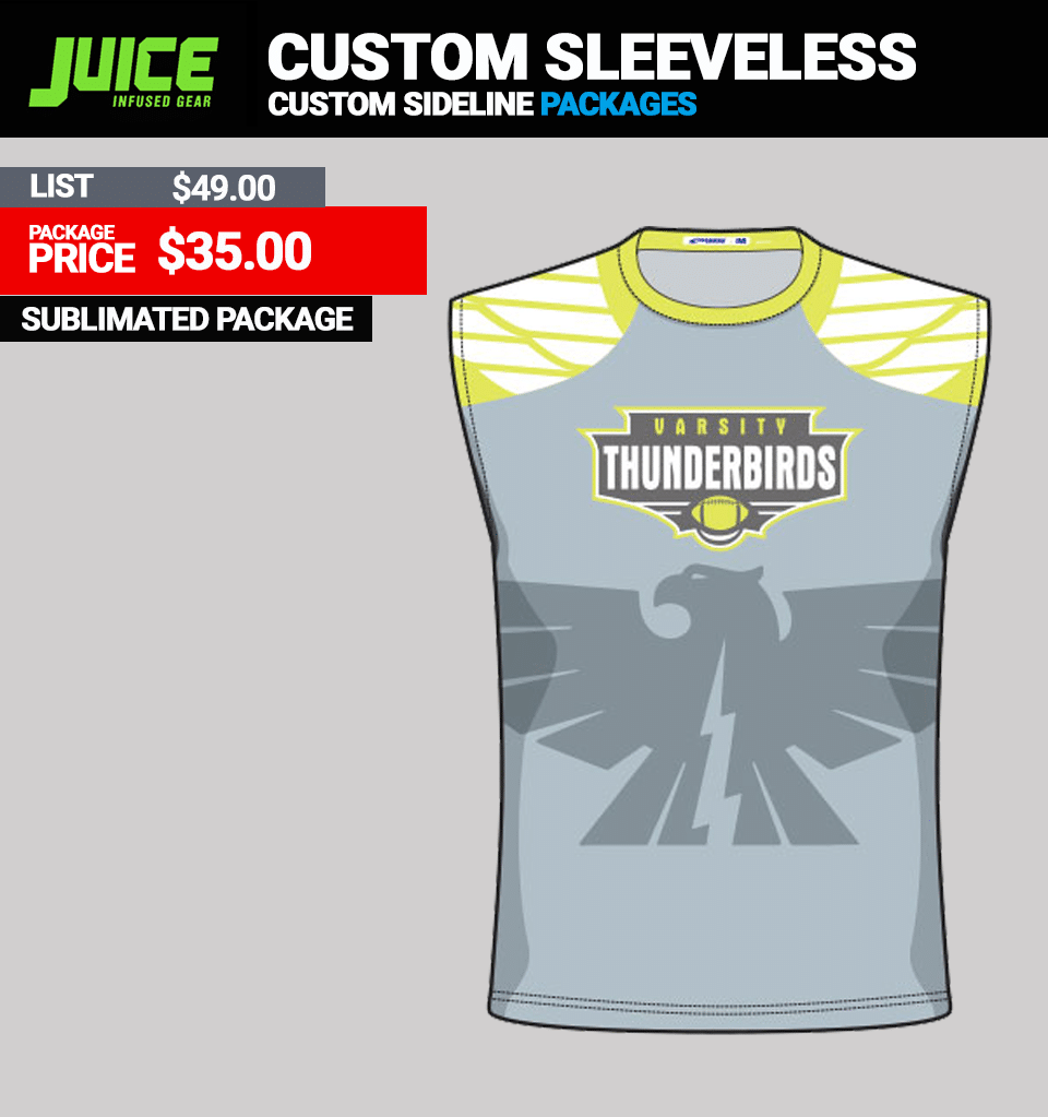 Juice Custom Team Sleeveless Top