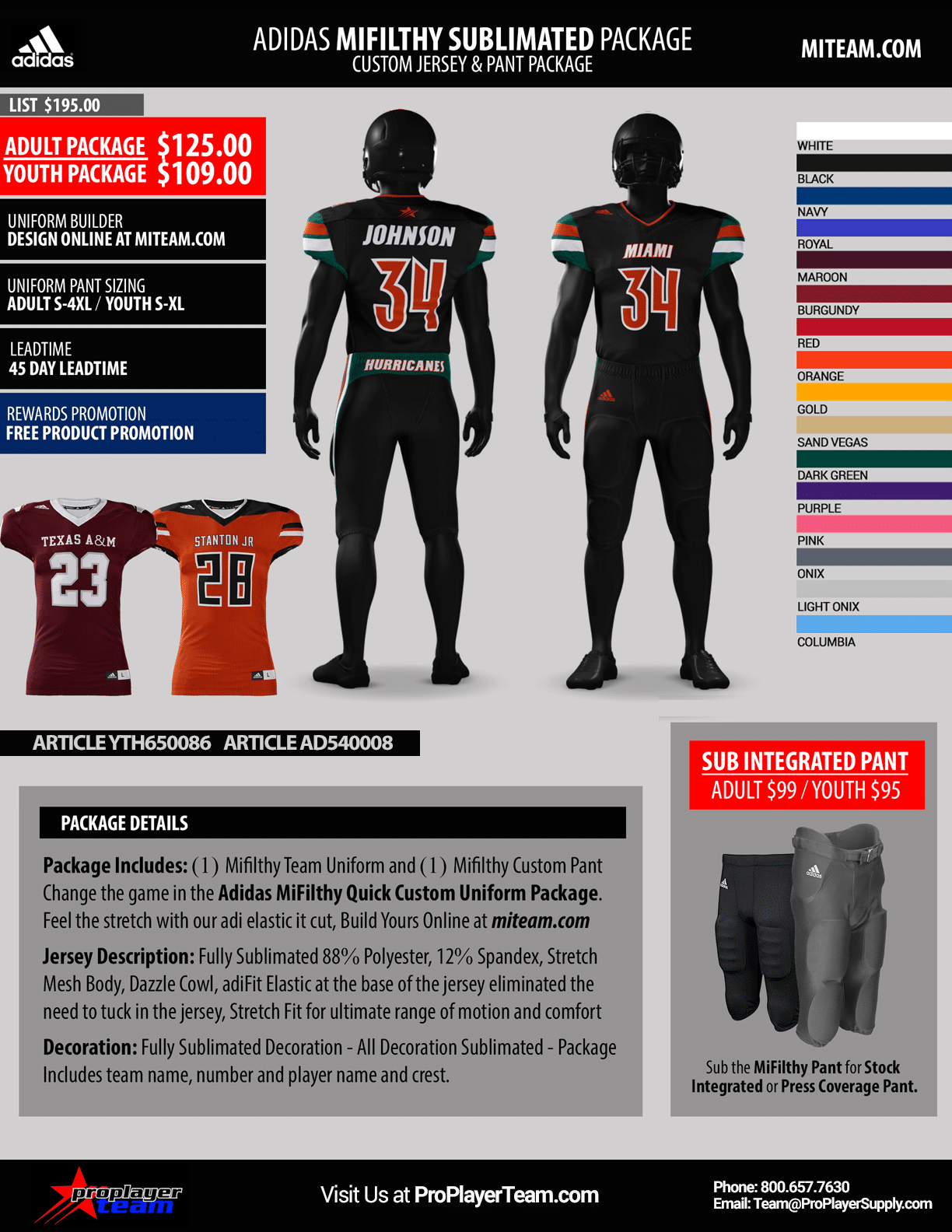 fe2d447efdc1 Order Now! Pay Later. Payment Plan s Available. Uniform Package Link