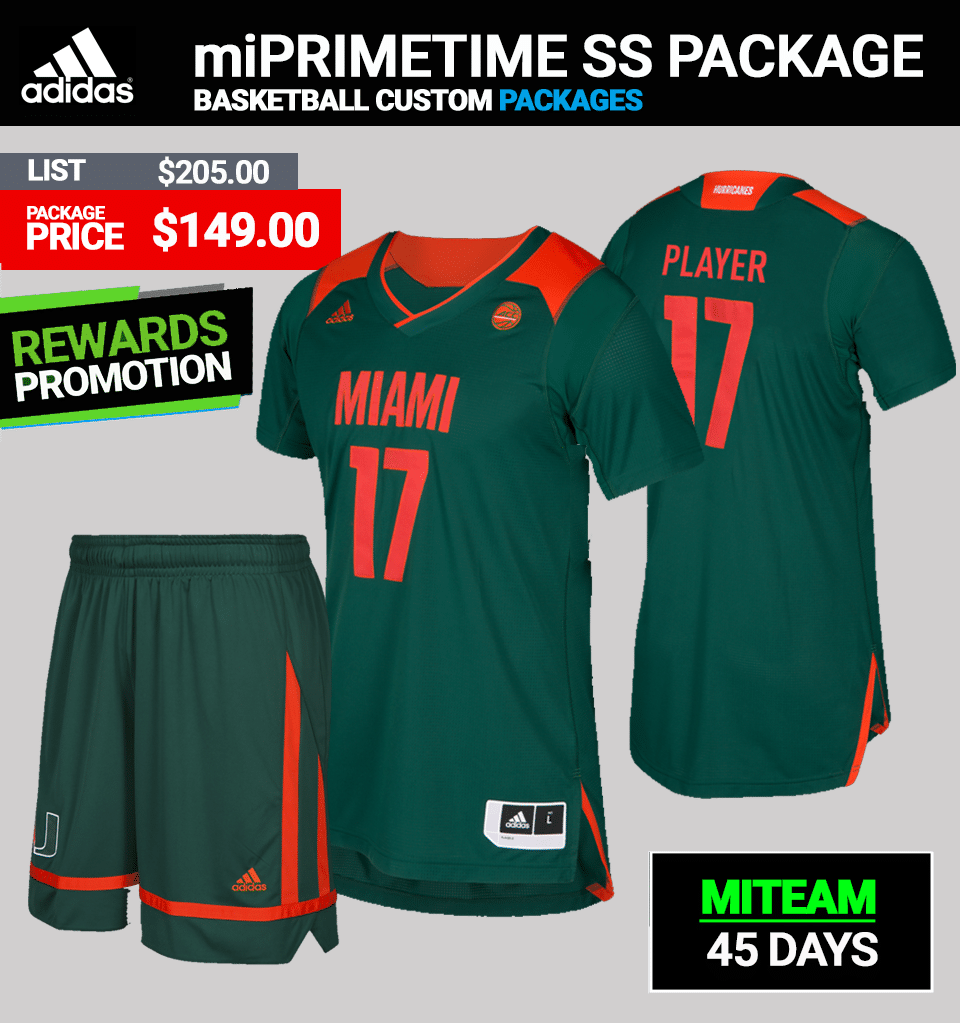 Adidas Racers Custom Uniform Package-Basketball Mens