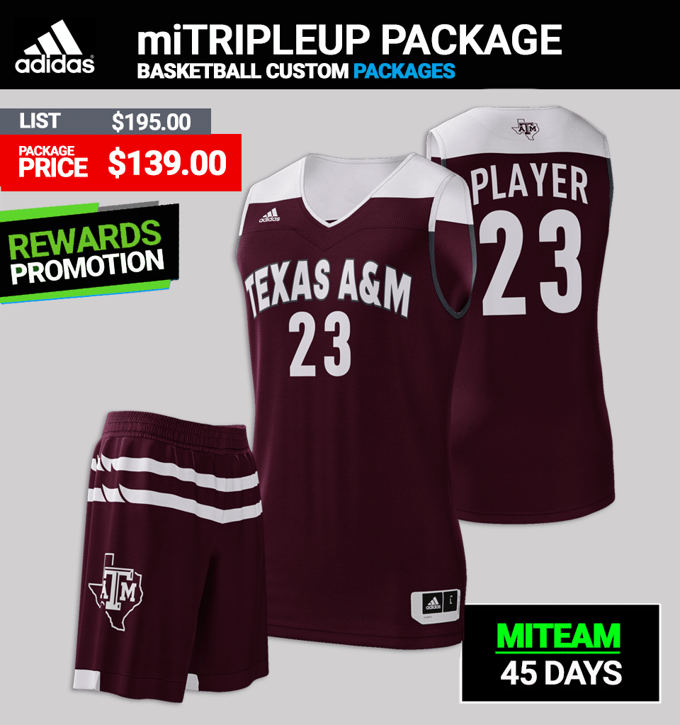 87d4b47dcdf1 Adidas miTRIPLEUP Basketball Uniform Package - Mens